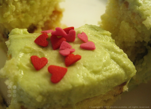 Citrus Matcha Cake