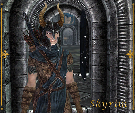 My current character in Skyrim, a Breton but will play a Khajiit next!